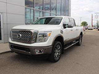 Used 2016 Nissan Titan XD PLATINUM 360 BACKUP CAM NAV HEATED COOLING SEATS for sale in Edmonton, AB