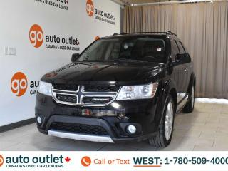 Used 2017 Dodge Journey Gt, 3.6L V6, Awd, Third row 7 passenger seating, Leather heated seats, Heated steering wheel, Bluetooth for sale in Edmonton, AB