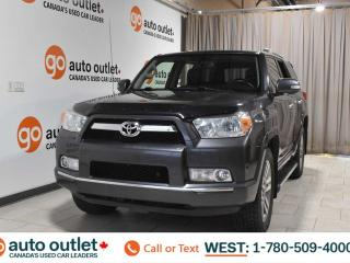 Used 2013 Toyota 4Runner Sr5, 4.0L V8, 4wd, Third row 8 passenger seating, Navigation, Leather heated seats, Backup camera, Sunroof, Bluetooth for sale in Edmonton, AB