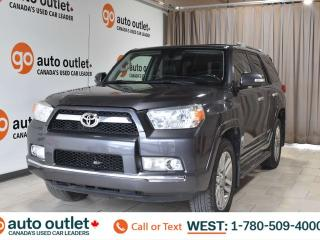 Used 2011 Toyota 4Runner Sr5, 4.0L V6, 4wd, Third row 7 passenger seating, Heated leather seats, Backup camera, Sunroof for sale in Edmonton, AB