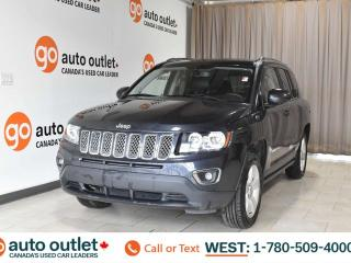 Used 2015 Jeep Compass High altitude, 2.4L i4, 4wd, Leather heated seats, Sunroof, Bluetooth for sale in Edmonton, AB
