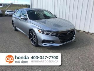 Used 2019 Honda Accord Sedan Sport Back Up Camera Heated Seats Sunroof for sale in Red Deer, AB