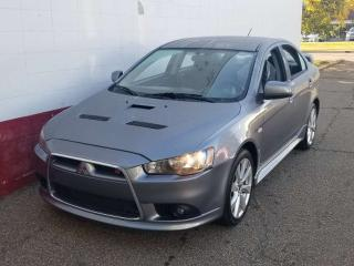 Used 2013 Mitsubishi Lancer RALLIART; GREAT CONDITION, BLUETOOTH, HEATED SEATS AND MORE for sale in Edmonton, AB