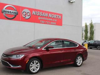 Used 2016 Chrysler 200 Limited/BLUETOOTH/PUSH START/KEYLESS ENTRY for sale in Edmonton, AB