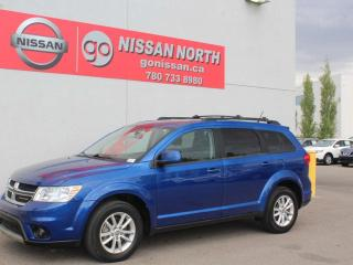 Used 2015 Dodge Journey SXT/SUNROOF/REAR DVD/7 PASSENGER for sale in Edmonton, AB