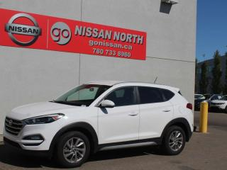 Used 2017 Hyundai Tucson AWD/ONE OWNER/HEATED WHEEL/BACKUP CAM for sale in Edmonton, AB