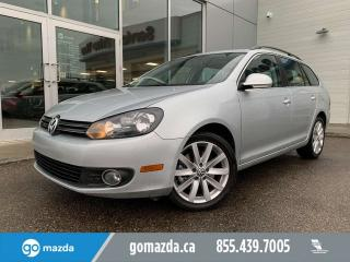 Used 2012 Volkswagen Golf Wagon HIGHLINE WAGON TDI SUNROOF LEATHER VERY USEFUL for sale in Edmonton, AB