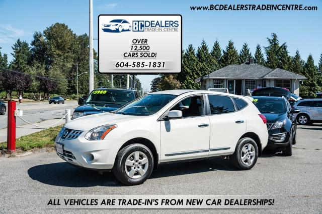 2012 Nissan Rogue S, Excellent Condition, Bluetooth, Backup Sensors