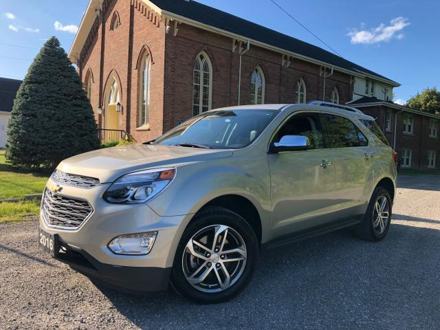 2016 Chevrolet Equinox LTZ - LEATHER - BACKUP CAM - CERTIFIED