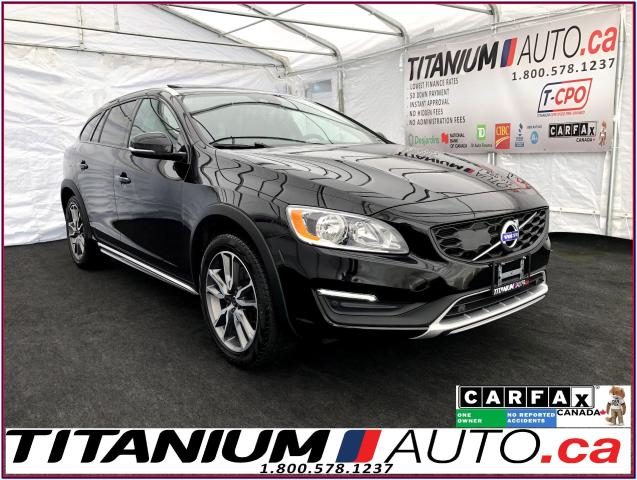 2017 Volvo V60 Cross Country+AWD+GPS+Camera+Blind Spot+Sunroof+XM