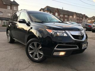 Used 2012 Acura MDX Elite Pkg|Acciden Free|One Owner|Navi|Leather| for sale in Burlington, ON