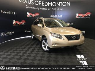 Used 2010 Lexus RX 350 Premium Package for sale in Edmonton, AB