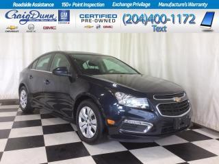 Used 2016 Chevrolet Cruze Limited 1LT Sedan * SUNROOF * for sale in Portage la Prairie, MB