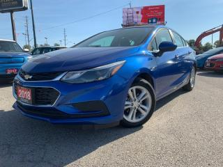 Used 2018 Chevrolet Cruze *BACK-UP CAMERA*BLUETOOTH*HEATED Seats - Driver AND PASSENGER-POWER MOONROOF* for sale in London, ON