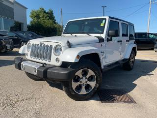 Used 2016 Jeep Wrangler Sahara * Convertible W Removable HARDTOP*HEATED Seats - Driver AND PASSENGER*NAVI* for sale in London, ON