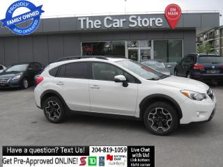 Used 2015 Subaru XV Crosstrek Limited Tech Pkg LEATHER sunroof NAVI NO ACCIDENTS for sale in Winnipeg, MB