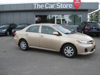 Used 2012 Toyota Corolla Auto CE BLUETOOTH HEATED SEATS- Clean TITLE !! for sale in Winnipeg, MB