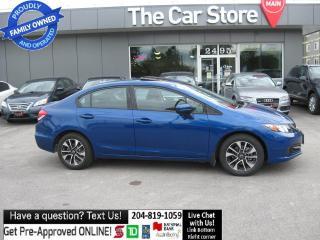 Used 2014 Honda Civic Sedan AUTO EX sunroof HTD SEAT back cam BLUETOOTH CLEAN! for sale in Winnipeg, MB