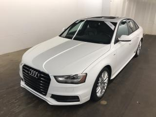 Used 2016 Audi A4 2.0T Komfort plus RARE 6SPD  LEATHER  ROOF  SPORTS for sale in Ottawa, ON