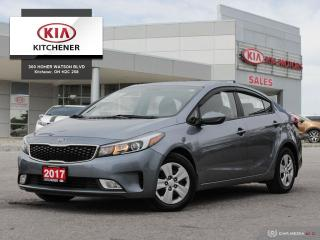 Used 2017 Kia Forte LX PLUS - HEATED SEATS, BACKUP CAMERA for sale in Kitchener, ON