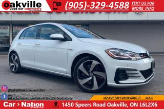 Used 2018 Volkswagen GTI AUTOBAHN | TARTAN INT | NAV | CARPLAY | BLINDSPOT for sale in Oakville, ON