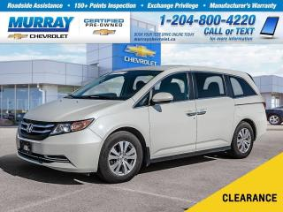 Used 2015 Honda Odyssey EX *Accident Free, Rear View Camera, Heated Seats* for sale in Winnipeg, MB