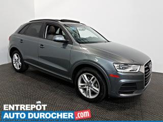 Used 2016 Audi Q3 Komfort AWD TOIT OUVRANT - A/C - Groupe Électrique for sale in Laval, QC