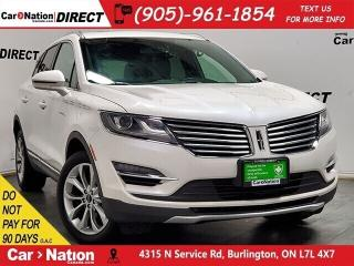Used 2017 Lincoln MKC Select| AWD| NAVI| PANO ROOF| for sale in Burlington, ON