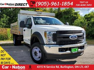 Used 2018 Ford F-550 Chassis CAB XLT| DUMP TRUCK| TURBO DIESEL| for sale in Burlington, ON