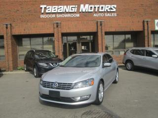 Used 2013 Volkswagen Passat TDI | COMFORTLINE | LEATHER | SUNROOF | HEATED SEATS | BT for sale in Mississauga, ON