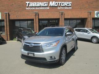 Used 2015 Toyota Highlander XLE | AWD | NAVIGATION | LEATHER | SUNROOF | REARCAM | BT for sale in Mississauga, ON