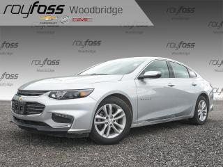 Used 2018 Chevrolet Malibu LT WITH BACKUP CAM for sale in Woodbridge, ON
