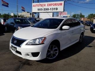 Used 2015 Nissan Sentra SR Premium Package/Navigation/Sunroof/Camera for sale in Mississauga, ON