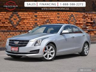 Used 2015 Cadillac ATS 2.0L AWD | One Owner | Accident Free | Certified for sale in Scarborough, ON