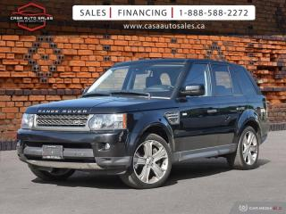 Used 2010 Land Rover Range Rover Sport 4WD - Supercharged *Certified* *Warranty* for sale in Scarborough, ON