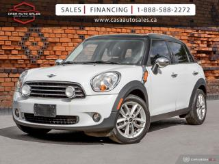 Used 2011 MINI Cooper Countryman FWD |  ONE OWNER  |  NO ACCIDENTS for sale in Scarborough, ON