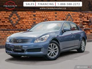 Used 2008 Infiniti G35 X AWD | One Owner | Low KMs | Bose for sale in Scarborough, ON