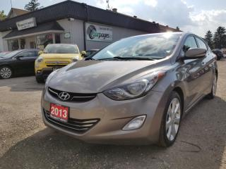 Used 2013 Hyundai Elantra Limited for sale in Bloomingdale, ON