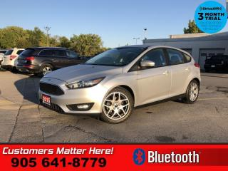Used 2015 Ford Focus SE  2.0L B/U-CAM BT PWR-GRP ALLOYS for sale in St. Catharines, ON