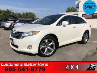 Used 2012 Toyota Venza V6 AWD  AWD V6 LEATHER HS 20-ALLOYS for sale in St. Catharines, ON
