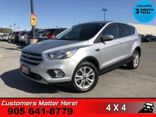 Used 2017 Ford Escape SE  4X4 B/U-CAM HTD-SEATS BT 1-OWNER for sale in St. Catharines, ON