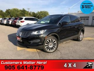 Used 2015 Lincoln MKC Select  NAV PANO-ROOF P/GATE CAM MEM for sale in St. Catharines, ON