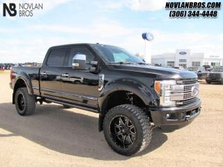 Used 2017 Ford F-350 Super Duty Platinum  - Navigation for sale in Paradise Hill, SK