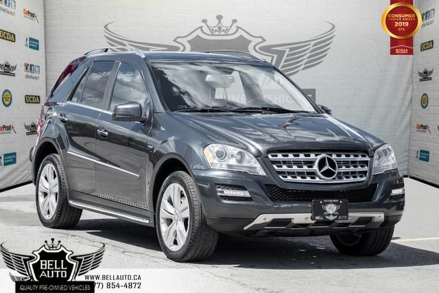 2011 Mercedes-Benz ML-Class ML 350 BlueTEC, AWD, NAVI, BACK-UP CAM, BLINDSPOT
