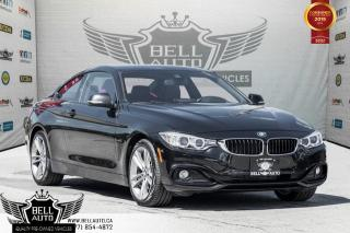 Used 2014 BMW 4 Series 428i xDrive, NO ACCIDENT, COUPE, AWD, NAVI, BACK-UP CAM for sale in Toronto, ON