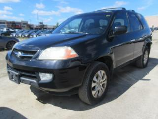 Used 2003 Acura MDX 3.5 4WD, SUNROOF AND MOONROOF! for sale in Brampton, ON