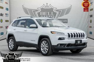Used 2015 Jeep Cherokee Limited, AWD, NO ACCIDENT, NAVI, BACK-UP CAM, BLINDSPOT for sale in Toronto, ON