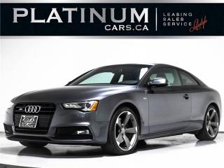 Used 2015 Audi S5 3.0T quattro Technik, 333HP, NAV, SUNROOF, CAM for sale in Toronto, ON
