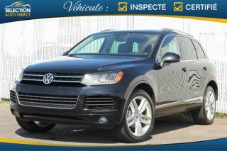 Used 2012 Volkswagen Touareg V6 Highline for sale in Ste-Rose, QC