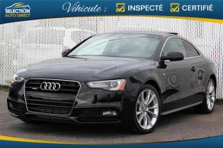 Used 2015 Audi A5 KOMFORT S LINE for sale in Ste-Rose, QC